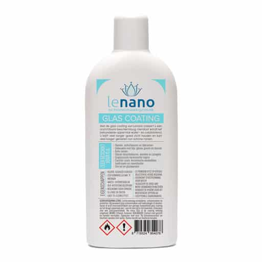Lenano Glas Nano Coating 250ML back