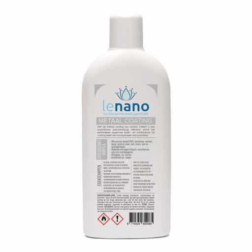 Lenano Metaal Nano Coating back