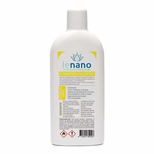 Lenano Zonnepanelen Nano Coating back