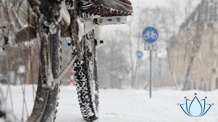 Bescherm motor, scooter en fiets tijdens winter - Lenano schoonmaakgemak
