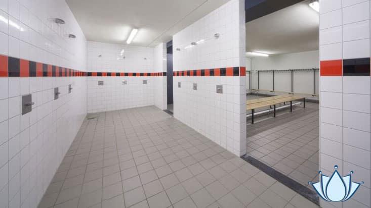 Hygiene in sport kleedkamers Lenano schoonmaakgemak